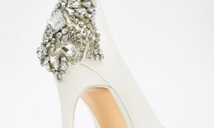 "The perfect shoe to say ""I do"""
