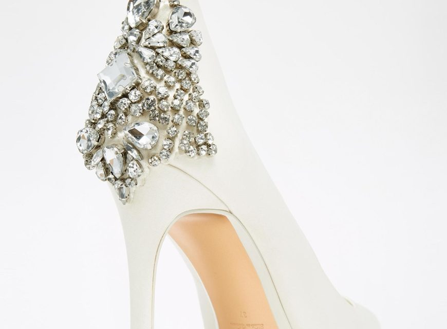 """The perfect shoe to say """"I do"""""""